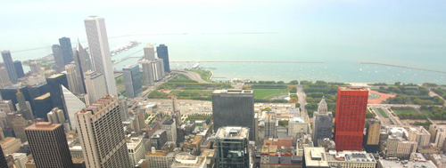 View from Searstower