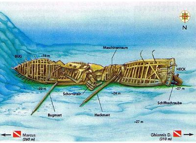 Carnatic dive site map